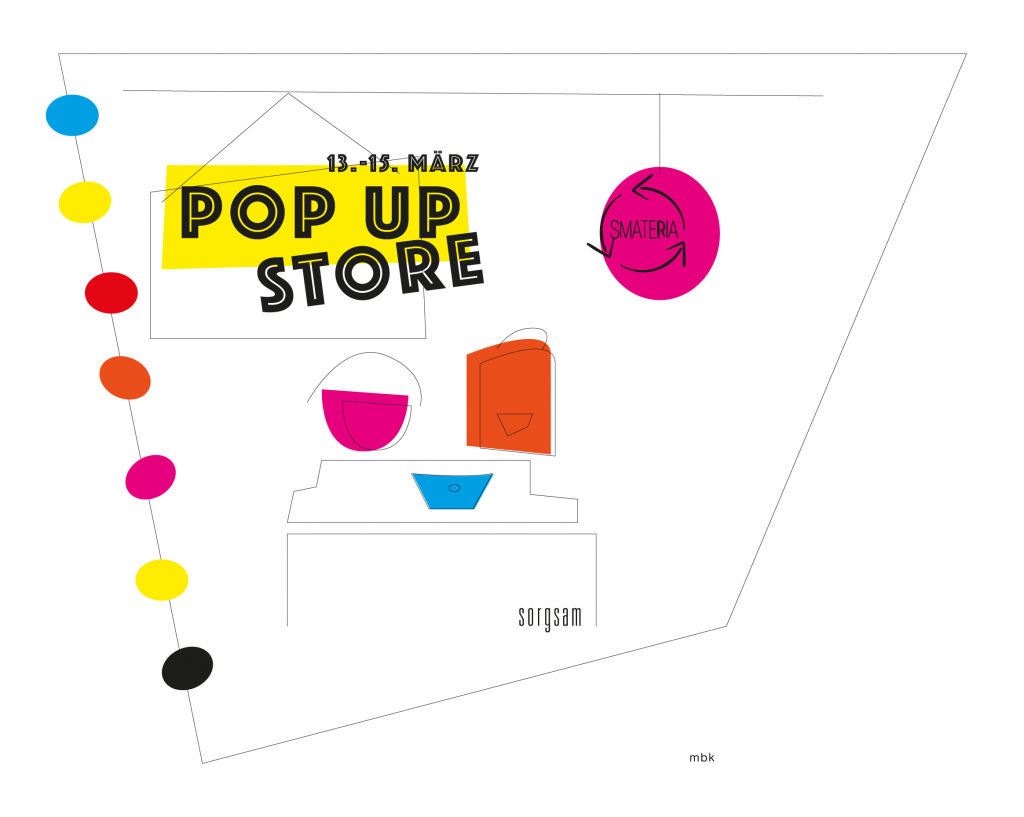smateria pop up store